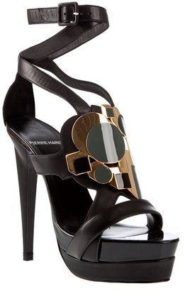 PIERRE HARDY - High heel jeweled sandal - Pierre Hardy
