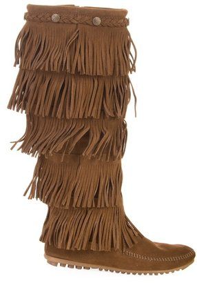 MINNETONKA - Suede moccasin boot - Moccasins