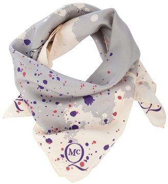 MCQ BY ALEXANDER MCQUEEN - Mis print silk scarf - Alexander McQueen Scarves