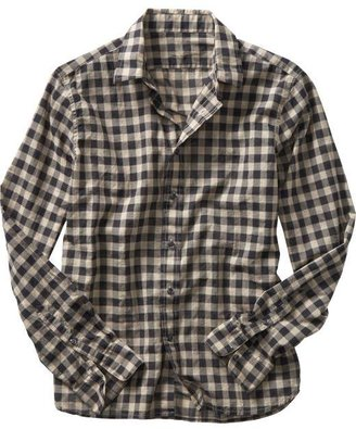 Khaki tartan plaid shirt - Spring 2010 Men's Fashion