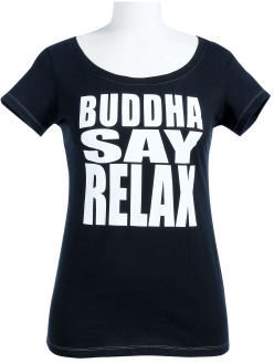 Buddha Say Thoughtful Tee - Playful Printed Tees