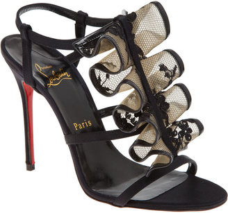 Christian Louboutin Fortitia - Black - Evening Sandals