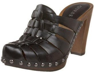 GUESS Women&#39;s Woven Clog - Casual Shoes