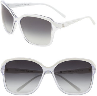 Alexander McQueen Oversized Square Sunglasses - Novelty Sunglasses
