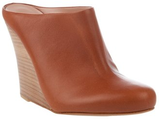 AVRIL GAU - 'Zabot' wooden wedge clog - Heels