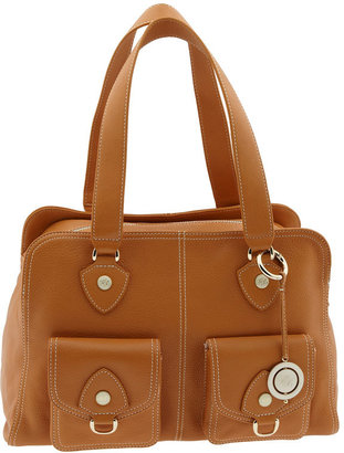 Ted Baker 'Branded Stud' Leather Bowler Bag - Bowler Bags