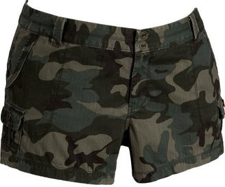 "Women's Plus Canvas Cargo Shorts (4"") - Cargo Shorts"