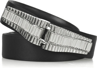 Judith Leiber Art Moderne fine-crystal belt - Gemstone Belt