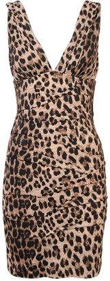 Tiered Leopard Dress - Animal Instinct
