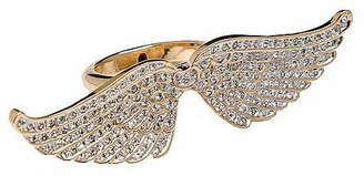 CC Skye Pave Angel Wing Ring - Decorative Rings