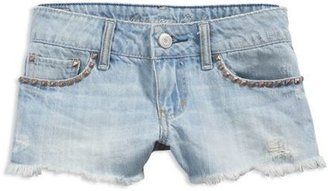 AE Studded Denim Shortie - Clothes