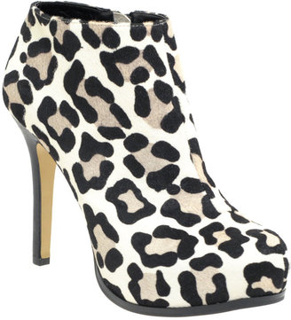 ASOS ALTO Leather Light Animal Effect Print Platform Ankle Boots - Fall Boot Trends
