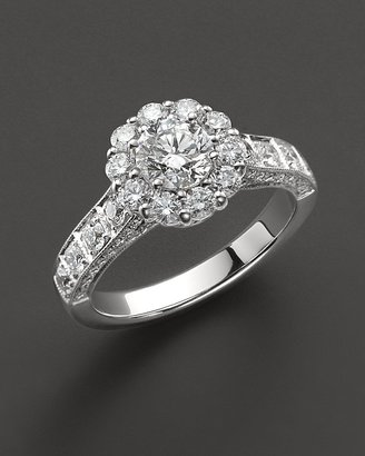 Round-Cut Diamond Ring in 18 Kt. White Gold, 1.95 ct. t.w. - Jewelry