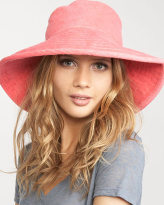 Juicy Couture Floppy Terry Hat - Fashion Hats For Women