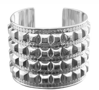 Anna Beck Studded Silver Fame Cuff - Jewelry