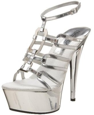 The Highest Heel Women's Crystal-31 Platform Sandal - Platform Sandals