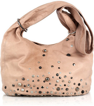 Sara Berman Slouchy studded leather bag - Spring&#39;s Trendy Purses