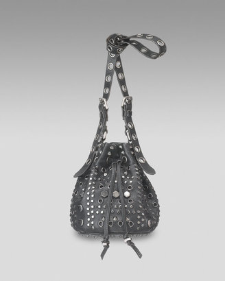 MARC by Marc Jacobs Studded Pixie Pouch - Studded Shoulder Bag