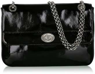 Lulu Guinness Black Large Anna Shoulder Bag - Handbags