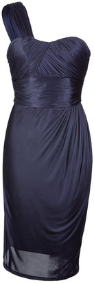 Matthew Williamson Navy One Shoulder Dress - Matthew Williamson