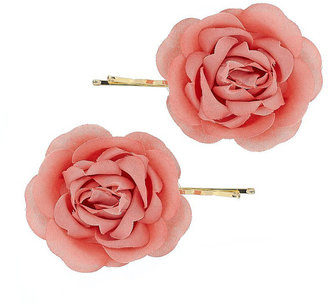 Rose Flower Kirbies - Hair Pin