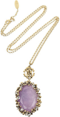 Roberto Cavalli Amethyst pendant necklace - Jewelry
