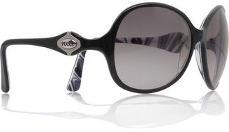 Emilio Pucci Gene round-framed sunglasses - Emilio Pucci