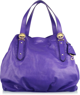 Mulberry Blueberry Drew Tote - Mulberry