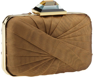 Sondra Roberts Pleated Box Clutch - Contemporary Box Clutch