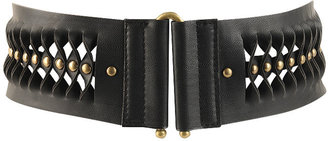 Elastic Studded Gills Belt - Studded Belt