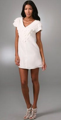 Geren Ford Raw Edge Shift Dress - Dresses &amp; Skirts