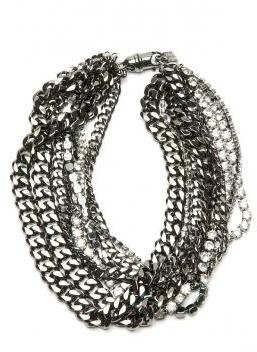 Givenchy Crystal Chain Necklace - Layered Necklaces