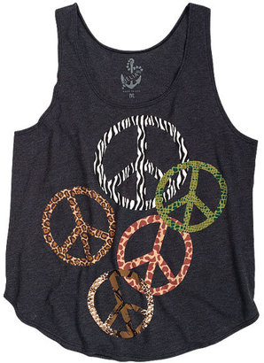 Animal Peace Signs Tank - Delia&#39;s