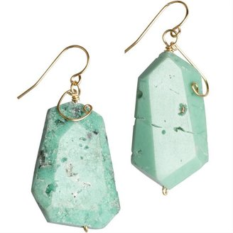 Chrysoprase Stone Earrings by Conscious Jewelry - Jewelry