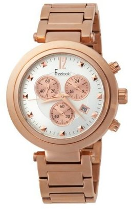 Freelook Unisex HA1136CHM-RG9 Cortina Chrono Rose Gold-White Dial Watch - Rose Gold Watches