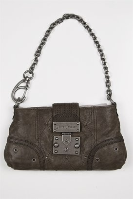 Juicy Couture Easy Rider - Englishcome Small Shoulder Bag in Dark Grey - Chain Strap Bag
