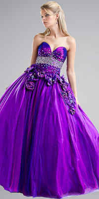 Gorgeous Purple Ball Gowns by Jovani - Princess Dresses