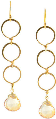 Julie Tuton Triple Circle Drop Earrings - Max &amp; Chloe