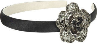 FULL TILT Filigree Flower Headband - Full Tilt 