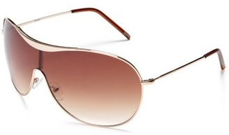 AND 1 Men's Evan Metal Shield Sunglasses - Shield Wrap Sunglasses
