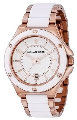 Michael Kors - &#39;Madison&#39; Stainless Steel Watch - Rose Gold Watches