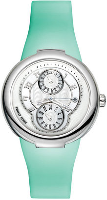 Philip Stein® Ladies' Watch with Silicone Strap - Funky Colored Watches