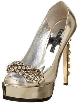 Ruthie Davis Women's Odyssey Peep Toe Pump - Shoes