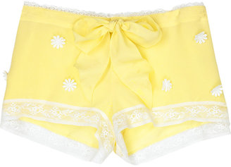 Juicy Couture Daisy Sleepwear silk shorts - Silk Pajamas