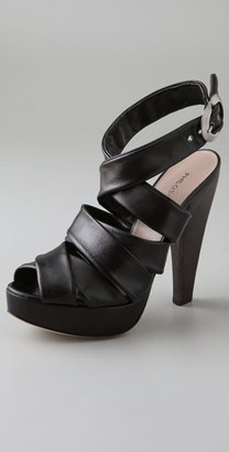 Philosophy Di Alberta Ferretti High Heel Ankle Wrap Sandals - Philosophy di Alberta Ferretti