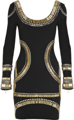 Sass & Bide Embellished jersey mini dress - Dress Like a Celebrity