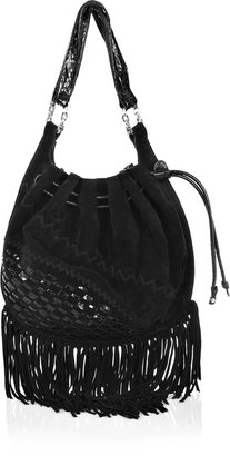 Jimmy Choo Tallys fringed bag - Fabulous Fringe