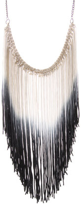 ASOS Dip Dye Fringed Necklace - Fabulous Fringe
