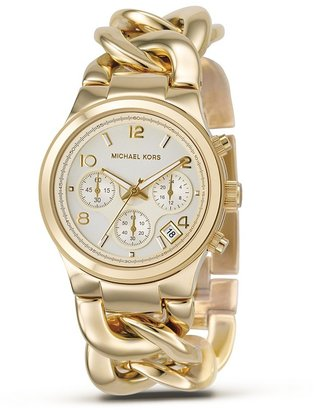 MICHAEL Michael Kors Stainless Steel Chronograph Watch, 38 mm - Gold Chronograph Watches 