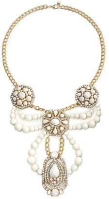 Natasha accessories bib necklace - Chandelier Necklaces